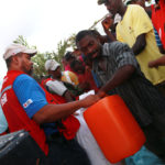 Distributions aux Cayes